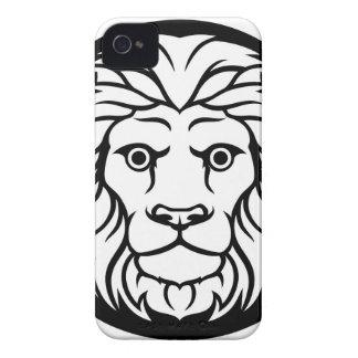 Leo Lion Zodiac Sign iPhone 4 Cover
