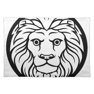 Leo Lion Zodiac Sign Placemat