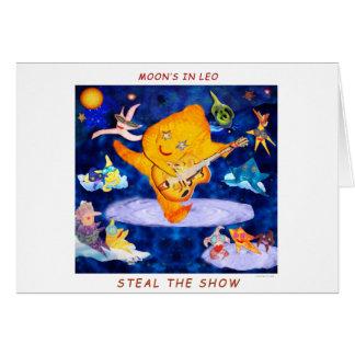 LEO MOON CARD