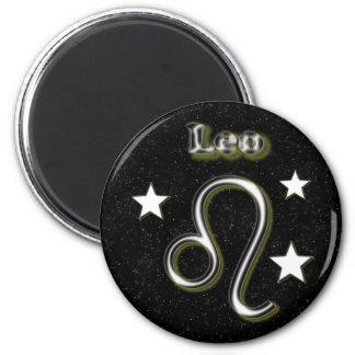 Leo symbol magnet