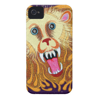 Leo the Golden Lion iPhone 4 Covers