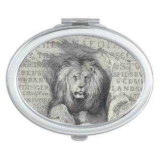 Leo the Lion - compact mirror