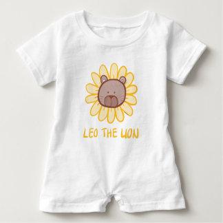 Leo the Lion Keiki Aloha Romper Baby Bodysuit