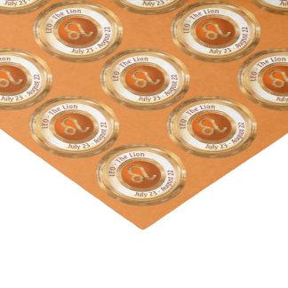 LEO - The Lion Zodiac Sign Tissue Paper