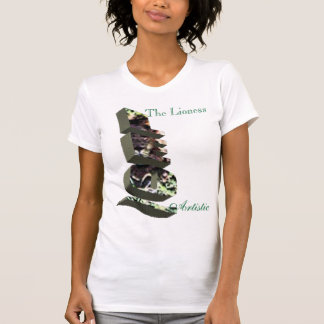 LEO, The Lioness, Artistic T-shirts
