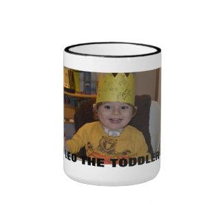 Leo the Toddler Ringer Coffee Mug