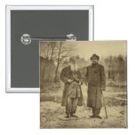 Leo Tolstoy and the author Maxim Gorky Pins