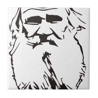 Leo Tolstoy Ceramic Tile