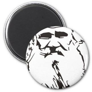 Leo Tolstoy Magnet