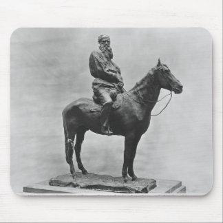 Leo Tolstoy riding Delire Mouse Pad