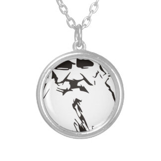 Leo Tolstoy Silver Plated Necklace