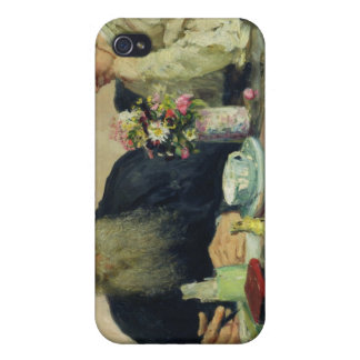 Leo Tolstoy with his wife in Yasnaya Polyana Covers For iPhone 4