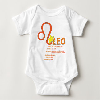 Leo Traits Baby Baby Bodysuit