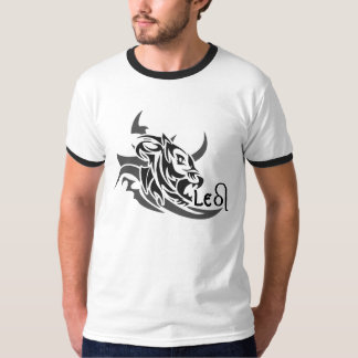 Leo Tribal Lion Tattoo Custom T-shirt. T-Shirt