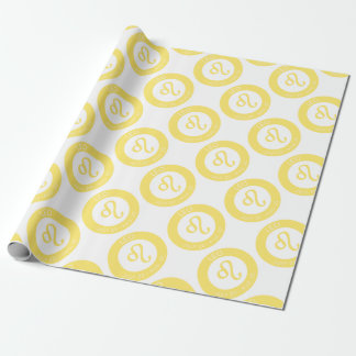 Leo Wrapping Paper
