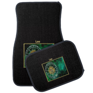 Leo Zodiac Astrology design Car Mat