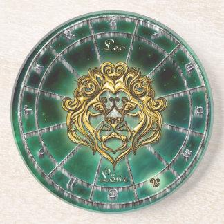 Leo Zodiac Astrology design Coaster