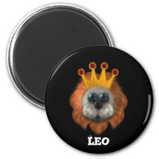 Leo Zodiac Cute Products Refrigerator Magnet