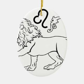 Leo zodiac horoscope astrology sign ornaments