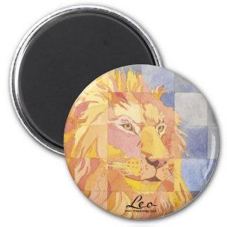 Leo Zodiac Magnet