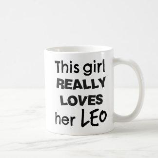 Leo Zodiac Mug This Girl Really