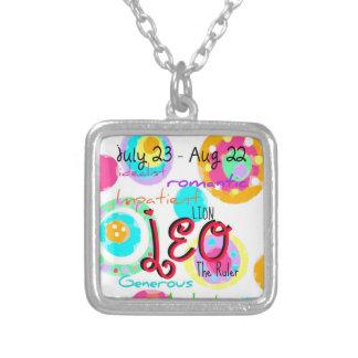 Leo 'Zodiac' necklace with sign traits!