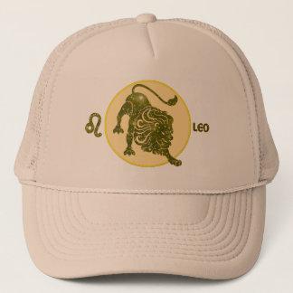 Leo Zodiac Peridot Designer Modern Trucker Hat