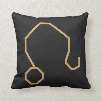 Leo Zodiac Sign Basic Throw Pillow