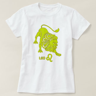 Leo Zodiac sign color Modern T-Shirt