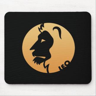 Leo Zodiac Sign Mouse Pads