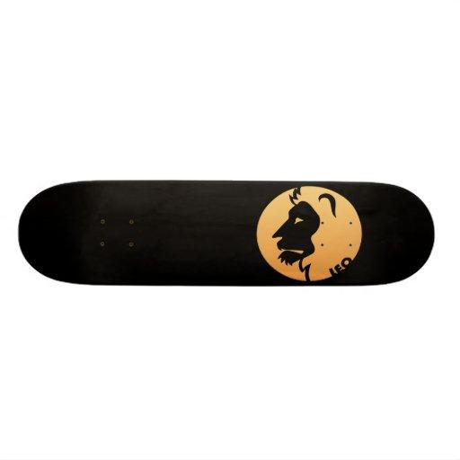 Leo Zodiac Sign Skateboard Decks