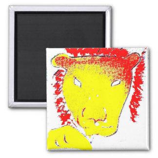 leo zodiac star sign fridge magnet