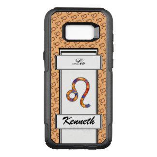 Leo Zodiac Symbol Element by Kenneth Yoncich OtterBox Commuter Samsung Galaxy S8+ Case