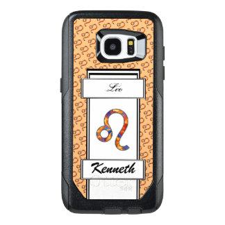 Leo Zodiac Symbol Element by Kenneth Yoncich OtterBox Samsung Galaxy S7 Edge Case