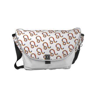 Leo Zodiac Symbol Element Commuter Bag