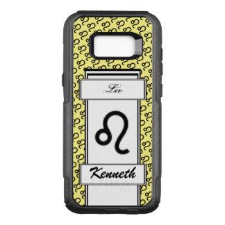 Leo Zodiac Symbol Standard by Kenneth Yoncich OtterBox Commuter Samsung Galaxy S8+ Case