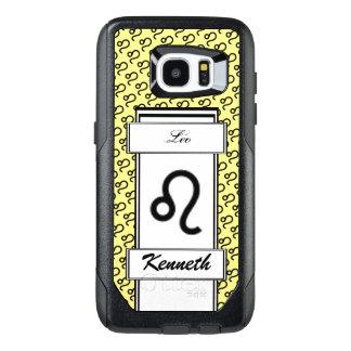 Leo Zodiac Symbol Standard by Kenneth Yoncich OtterBox Samsung Galaxy S7 Edge Case
