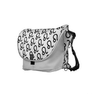 Leo Zodiac Symbol Standard Courier Bag