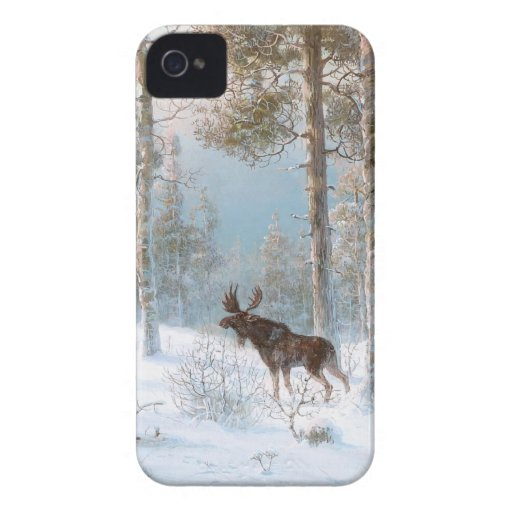 Leodinovich: Elk in the Forest Blackberry Cases