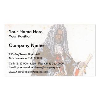 Leon Bakst Costume design for Master of Ceremonies Business Cards