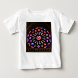 Leon Cathedral window, El Camino, Spain Baby T-Shirt