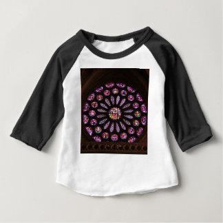 Leon Cathedral window, El Camino, Spain Baby T-Shirt
