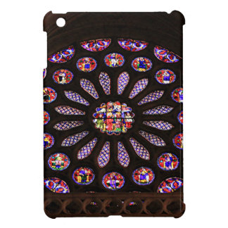 Leon Cathedral window, El Camino, Spain iPad Mini Cover
