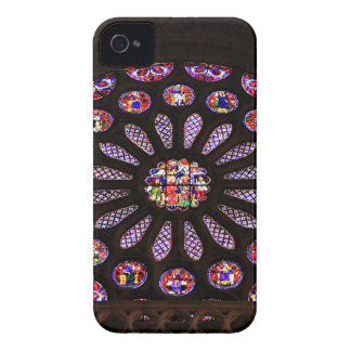 Leon Cathedral window, El Camino, Spain iPhone 4 Case-Mate Cases