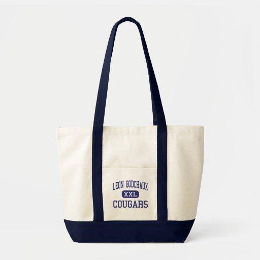 Leon Godchaux - Cougars - Junior - Reserve Canvas Bags