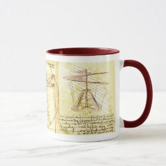 Leonado da Vinci Drawings Mug