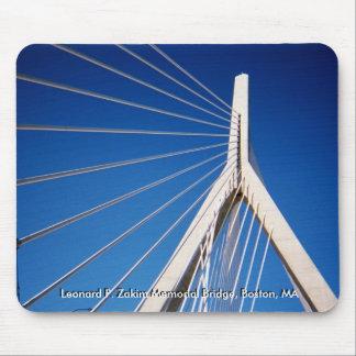 Leonard P. Zakim Memorial Bridge Mouse Pad