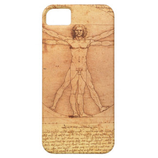 Leonardo Da Vinci Anatomy Study of human body iPhone 5 Cover