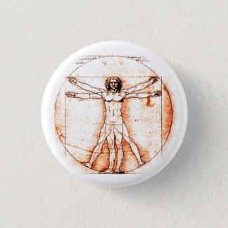 Leonardo da Vinci Button