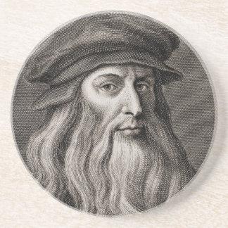 Leonardo da Vinci Drink Coasters
